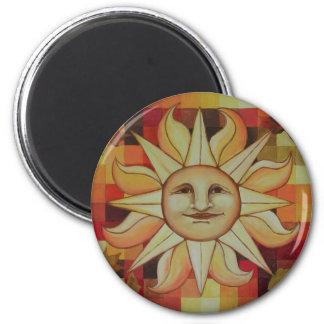 Autumn Sun Magnet
