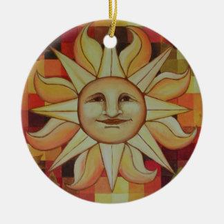 Autumn Sun Ornament