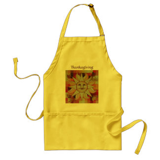Autumn Sun Thanksgiving Standard Apron