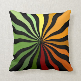 Autumn Sunburst - ZHP Throw Pillow