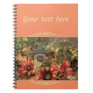 Autumn Sunflowers Pumpkin Notebook
