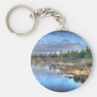 Autumn Sunrise at Moosehead Lake Maine Key Ring