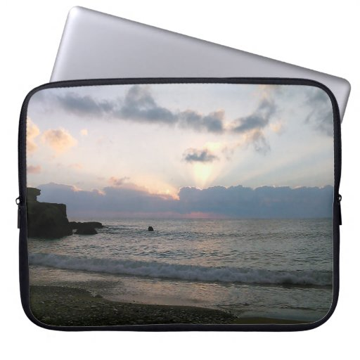 Autumn Sunrise in Spain Laptop Sleeve