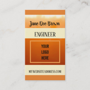 Linkedin business cards business card printing zazzle uk autumn sunset earth tones logo linkedin template business card reheart Image collections