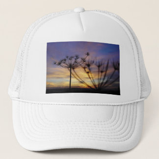 Autumn Sunset Echoes Trucker Hat