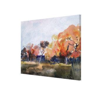 Autumn, Sussex Canvas Print