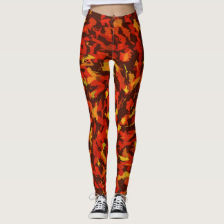AUTUMN SWIRL LEGGINGS