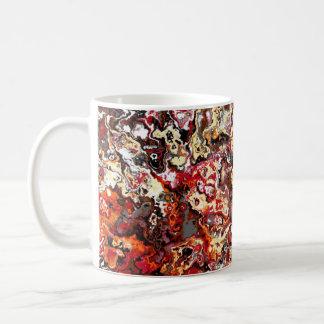 Autumn Swirling Floral Classic Designer Mug