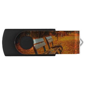 Autumn Swivel USB 2.0 Flash Drive