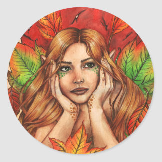 Autumn Thoughts Sticker