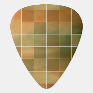 Autumn tiles guitar pick