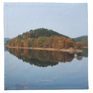 Autumn to the Aggertalsperre Napkin