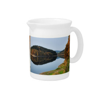 Autumn to the Aggertalsperre Pitcher