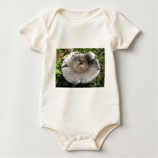 autumn toadstool baby bodysuit