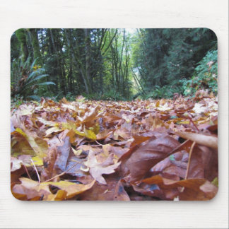 """Autumn Trail"" Mouse track pad Mouse Pad"