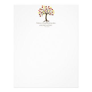 Autumn Tree 21.5 Cm X 28 Cm Flyer