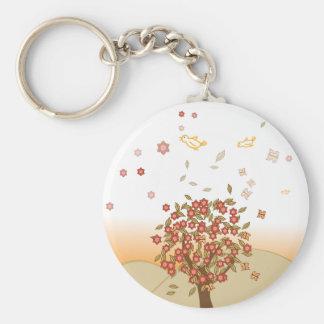 autumn tree.ai keychain