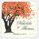 Autumn Tree Dancing Blooms