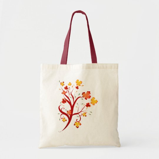 Autumn Tree Design Bag