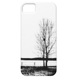 Autumn Tree Dot Art iPhone 5/5s Mobile Case