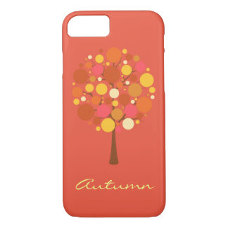 Autumn Tree illustration Barely th. iPhone 7 Cases