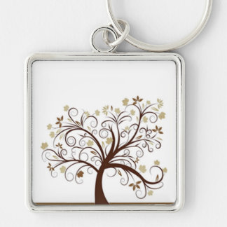 Autumn Tree Keychain