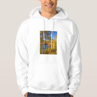 Autumn tree landscape, Maine Hoodie