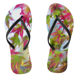 autumn tree leaf nature abstract detail background flip flops