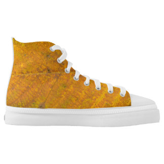 autumn tree leaf texture pattern background nature printed shoes