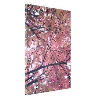Autumn Tree Leaves Photo 1 Portrait Orientation Canvas Print