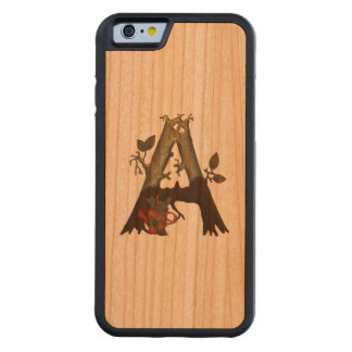 Autumn Tree Monogram A Cherry iPhone 6 Bumper Case