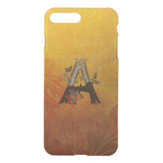Autumn Tree Monogram A iPhone 7 Plus Case