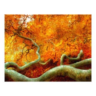 Autumn - Tree - Serpentine Flyer