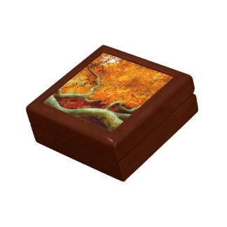 Autumn - Tree - Serpentine Keepsake Box