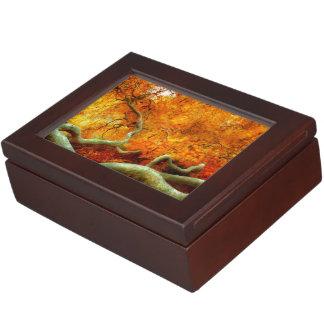 Autumn - Tree - Serpentine Keepsake Boxes