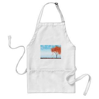 Autumn tree standard apron