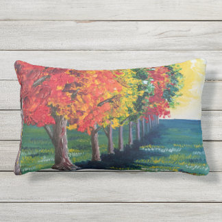 """Autumn Trees 1"" Outdoor Pillow"