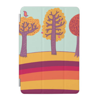 Autumn Trees And Bird iPad Mini Cover