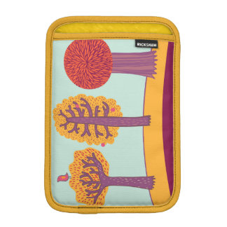 Autumn Trees And Bird iPad Mini Sleeve