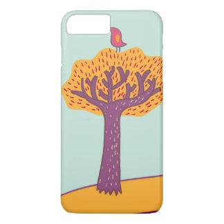 Autumn Trees And Bird iPhone 8 Plus/7 Plus Case