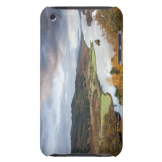 Autumn trees and Loch Faskally, Pitlochry Barely There iPod Cover