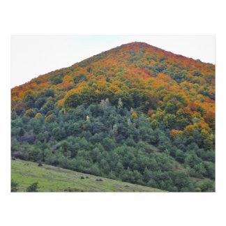 Autumn trees custom flyer
