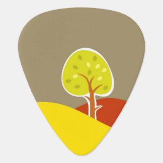 Autumn Trees Guitar Pick