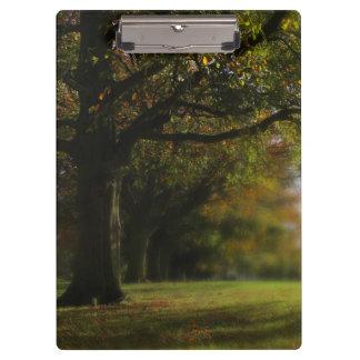 Autumn Trees Landscape Clipboard