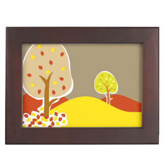 Autumn Trees Memory Box