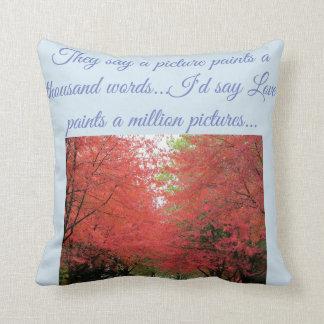 Autumn Trees Pillow