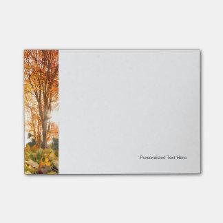 Autumn Trees Post-it® Notes
