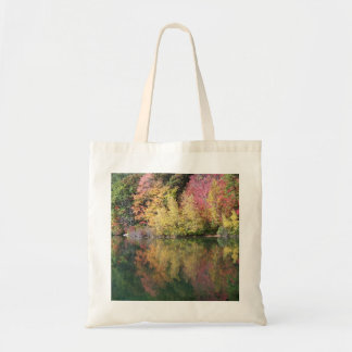 Autumn Trees Tote Budget Tote Bag