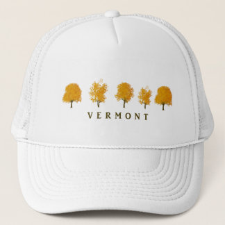 Autumn Trees - Vermont Trucker Hat