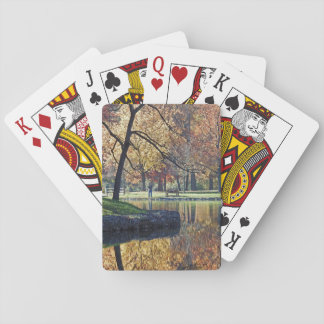Autumn Trout Fishing Playing Cards